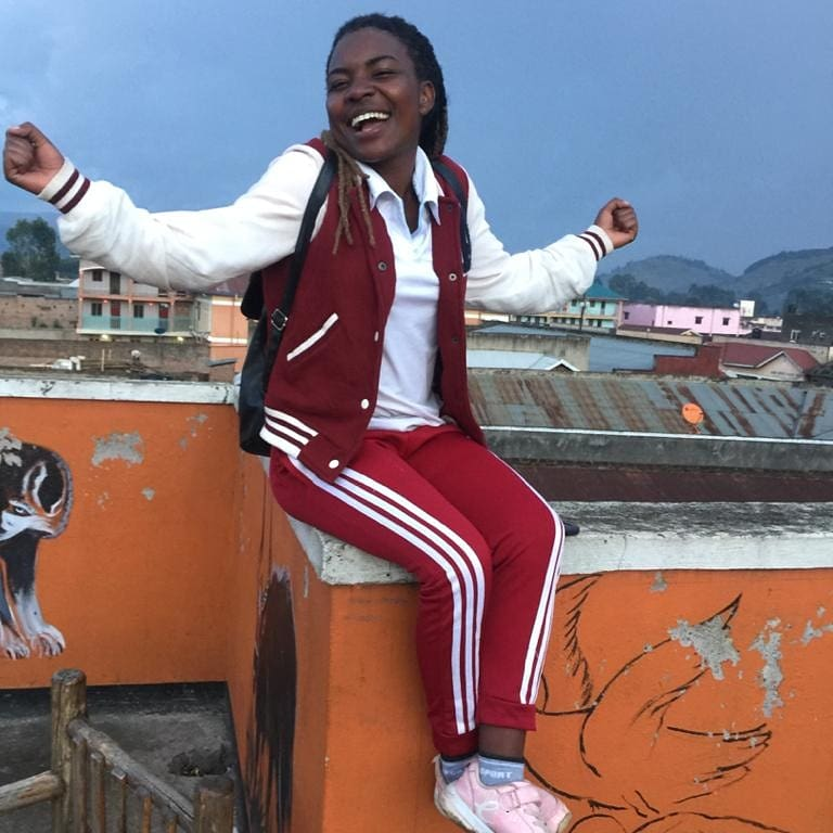 Uwimana grace during her free time